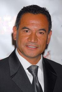 Temuera Morrison at the Sixth Annual Celebration of New Zealand Filmmaking and Creative Talent Pre-Oscar dinner.