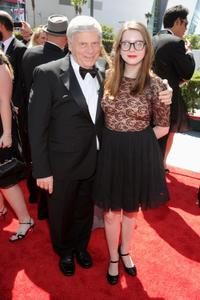 Robert Morse and Allyn Morse at the 62nd Annual Primetime Emmy Awards.