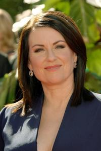 Megan Mullally at the 58th Annual Primetime Emmy Awards.