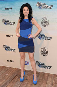 Whitney Cummings at the Comedy Central Roast Of David Hasselhoff in California.