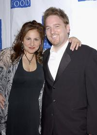Kathy Najimy and her husband Dan Finnerty at the Project Angel Food's 11th Annual Angel Awards Gala.