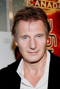 Liam Neeson at the after party of the premiere of