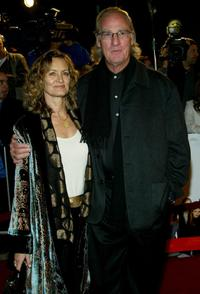 Craig T. Nelson and Guest at the world premiere of