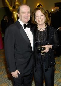 Bob Newhart and his wife at the 15th Annual Academy Of Television Arts & Sciences Hall Of Fame Ceremony.
