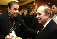 Bob Newhart and Richard Shermanattend at the 8th Marc Davis Lecture on Animation.