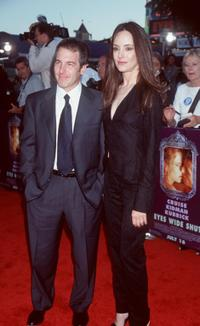Brian Benben and Madeleine Stowe at the premiere of