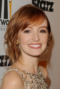 Ahna O'Reilly at the 15th Annual Hollywood Film Awards Gala in California.