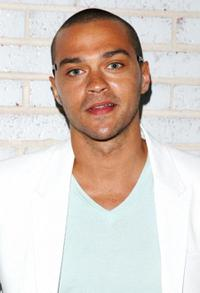 Jesse Williams at the Calvin Klein Collection & Visionaire 56 Solar Launch.