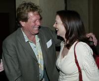 Ryan O'Neal and Leslie Ann Warren at the American Cinematheque's Mods and Rockers Film Festival screening of