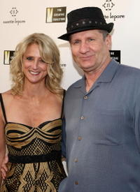 Nanette Lepore and Ed O'Neill at the Nanette Lepore and the Creative Coalition's Fashion Votes event.