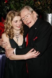 Peter O'Toole and Jodie Whittaker at the gala screening of