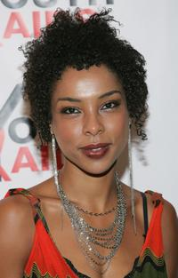 Sophie Okonedo at the YouthAIDS benefit gala.