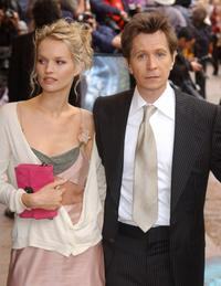 Gary Oldman and Elsa at the UK Premiere of