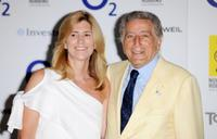 Tony Bennett and Guest at the O2 Silver Clef Awards 2010.