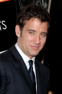 Clive Owen at the New York premiere of