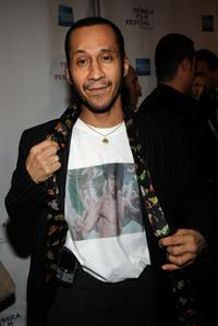 Antone Pagan at the premiere of