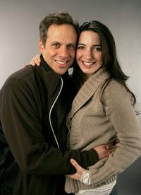 Josh Pais and Marie Farleo at the 2007 Sundance Film Festival.