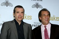 Chazz Palminteri and Robert Davi at the special screening of