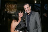 Chazz Palminteri and Joyce Westergaard at the special screening of