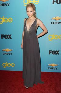 Dianna Agron at the premiere of