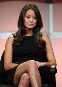 Jamie Chung at the ABC Family portion of Television Critics Association Press Tour.
