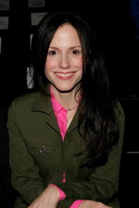 Mary-Louise Parker at Sass & Bide Fall 2006 fashion in N.Y.
