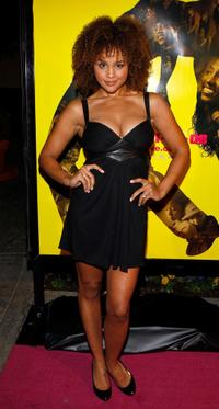 Hayley Marie Norman at the premiere of