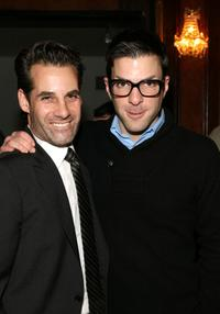 Adrian Pasdar and Zachary Quinto at the Jules Verne Adventure Film Festival Closing Day Lifetime Achievement Award to Stan Lee and Heroes.