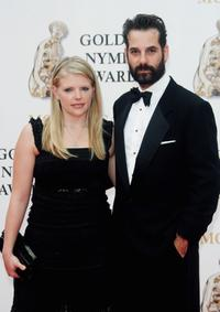 Adrian Pasdar and his wife Natalie Maines at the 2007 Monte Carlo Television Festival closing ceremony.