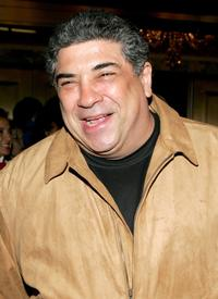 Vincent Pastore at the opening night of