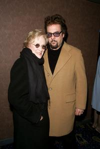 Robert Pastorelli and Glenn Close at the premiere of
