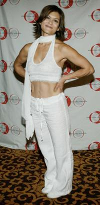 Nia Pebbles at the 8th Annual American Choreography Awards.