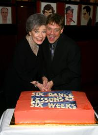 Polly Bergen and Mark Hamill at the after-party for broadway comedy