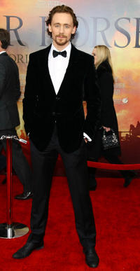 Tom Hiddleston at the world premiere of