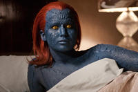 Jennifer Lawrence as Raven in ``X-Men: First Class.''