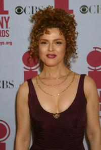 Bernadette Peters at the 56th Annual Tony Awards.