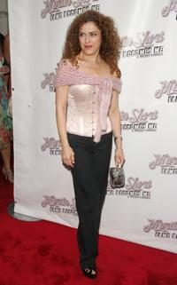 Bernadette Peters at the opening night of