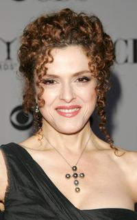Bernadette Peters at the 60th Annual Tony Awards.
