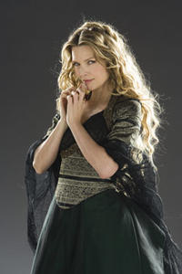 Michelle Pfeiffer as the powerful witch Lamia in