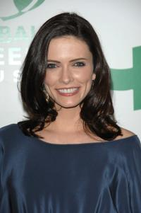 Bitsie Tulloch at the Global Green USA's 5th Annual Awards season celebration.