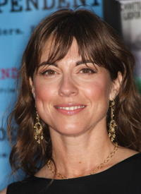 Rebecca Pidgeon at the screening of