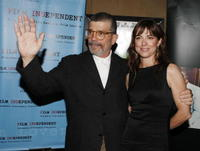 David Mamet and Rebecca Pidgeon at the special screening of