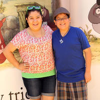 Raini Rodriguez and Rico Rodriguez at the California premiere of