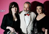Sally Hawkins, Director Mike Leigh and Alexis Zegerman at the premiere of