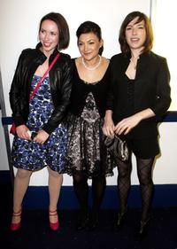 Kate O'Flynn, Alexis Zegerman and Sally Hawkins at the UK premiere of