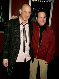 Richard Portnow and Malcolm Danare at the premiere of