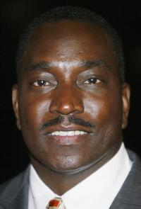Clifton Powell at the taping