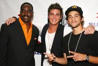 Clifton Powell, Trevor Wright and Paul Rodriguez Jr. at the opening night of New York International Latino Film Festival.