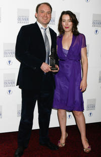 Rory Kinnear and Olivia Williams at the Laurence Olivier Awards in England.