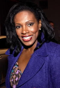 Sheryl Lee Ralph at the Mercedes-Benz Fashion Week.